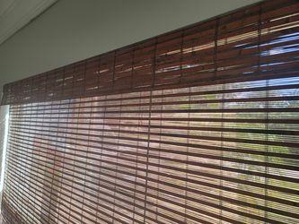Bamboo blinds Thumbnail