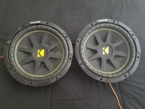 Kicker Comp 10inch Subwoofers for Sale in Dallas, TX