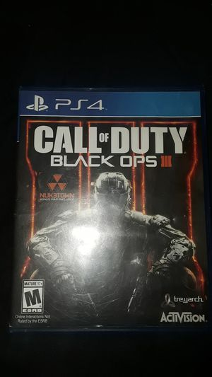 Black ops 3 call of duty for Sale in Washington, DC