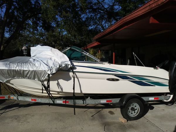 1998 Sea Ray with a 115 motor Mercury rebuilt for Sale in Tampa, FL -  OfferUp
