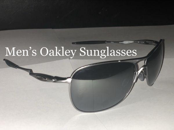8bd2d013819 Men s Oakley Sunglasses OO 4060 22 Crosshair Polarized Prizm Daily Silver  Iridium