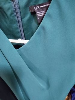 Armani Exchange Teal Dress Size 0 Thumbnail