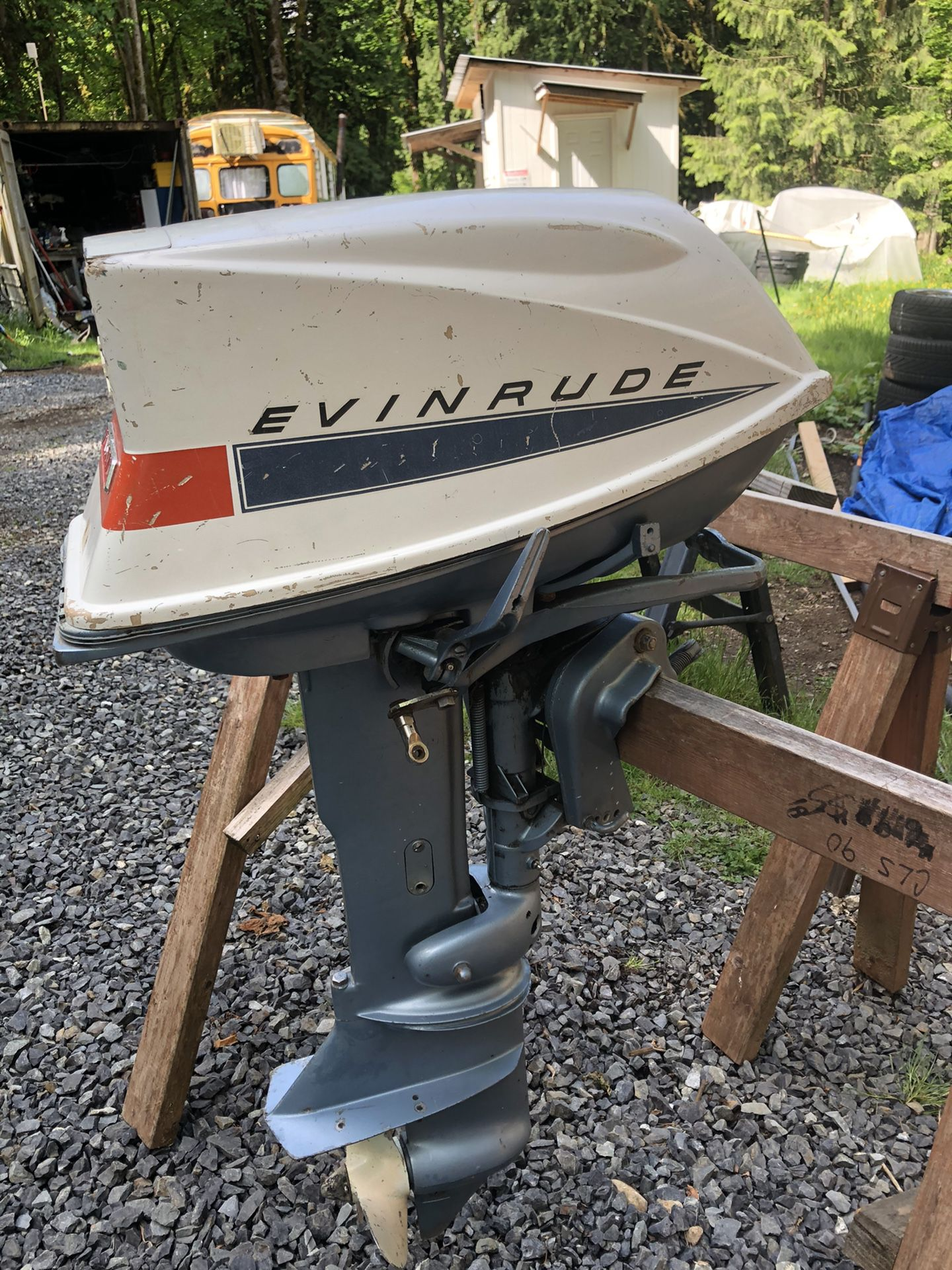 Photo 1968 Evinrude Fastwin