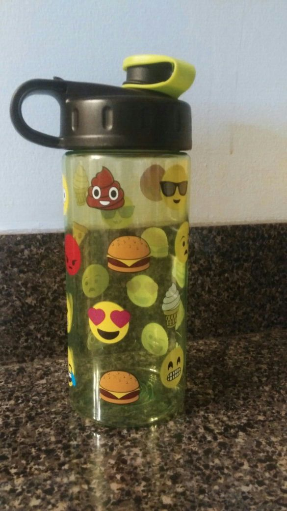 New Emoji Water Bottle