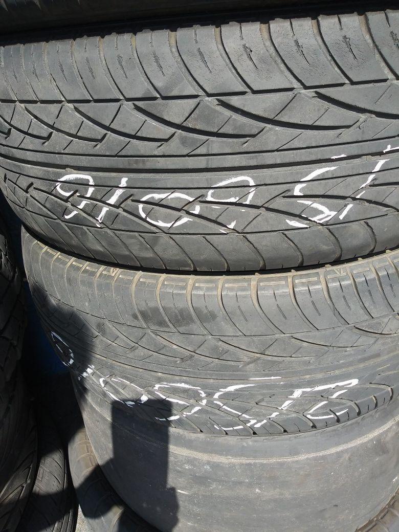 Tire 215 60 16 each instaled EL MOFLES