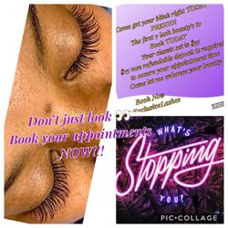 Mink eyelash extensions today Thumbnail
