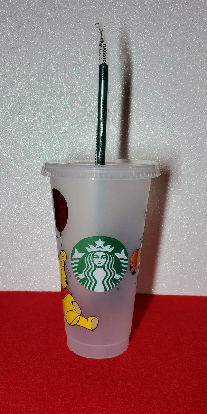 Winnie The Pooh And Tigger Starbucks Cold Cup