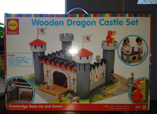 Wooden Dragon Castle Set For Sale In Mitchell In Offerup
