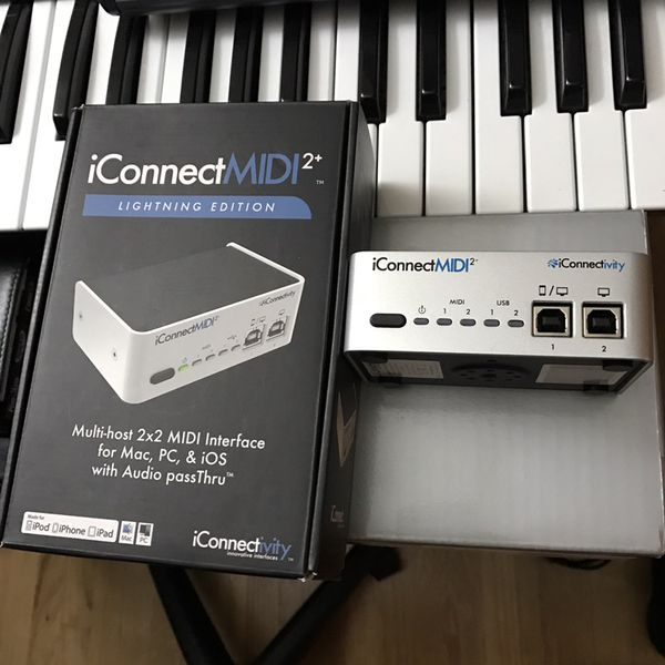 Iconnect midi 2 for iPhone and iPad or midi keyboard for Sale in Glendale,  CA - OfferUp