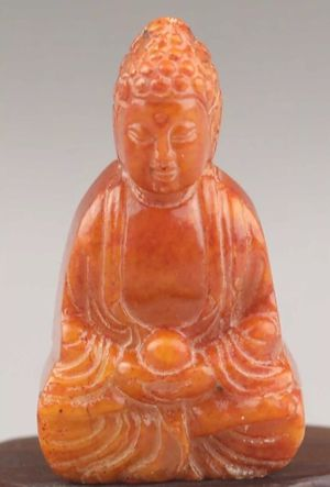 Natural Jade handcarved Buddha statue for Sale in Chicago, IL