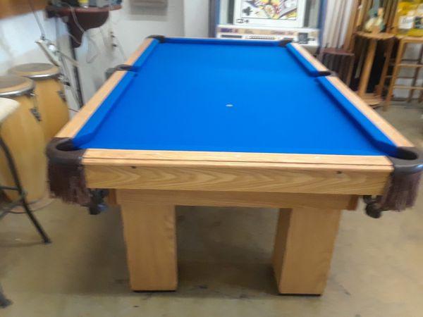 Ft Boessling Pool Table For Sale In San Antonio TX OfferUp - Boessling pool table