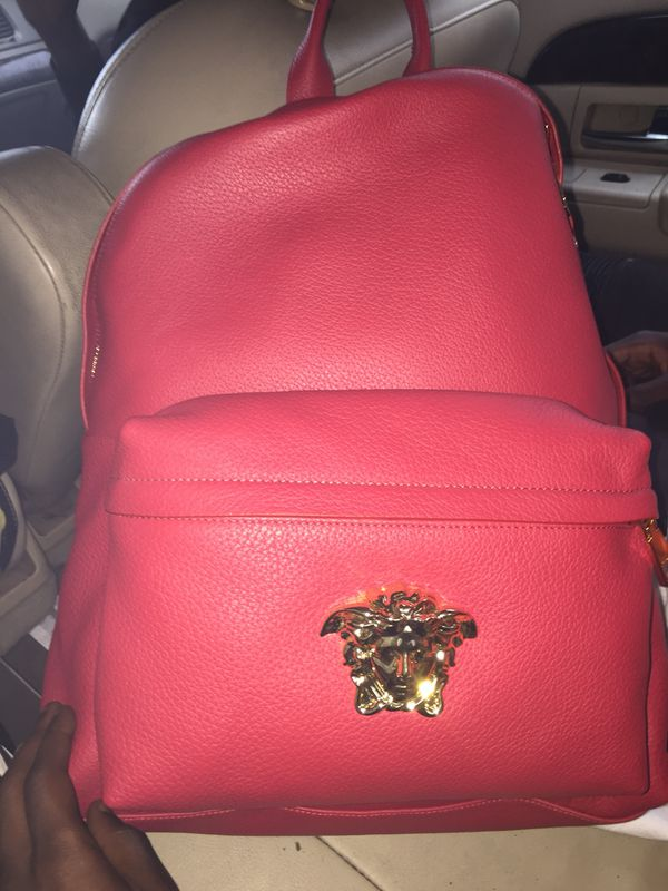 VERSACE BOOK BAG FOR  1000 ILL COME TO YOU for Sale in ... 9d5ac096a1ad9