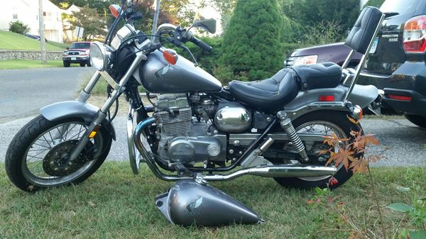 86 Honda Rebel 450 Great Starter Bike