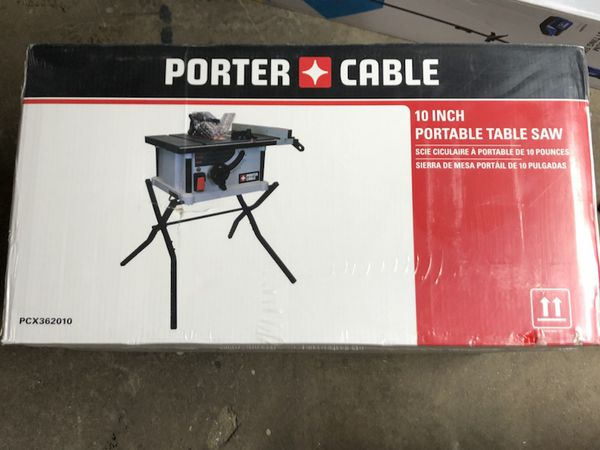 Brand new sealed porter cable 10 in 15 amp table saw 5300 rpm for brand new sealed porter cable 10 in 15 amp table saw 5300 rpm for sale in los angeles ca offerup greentooth Choice Image