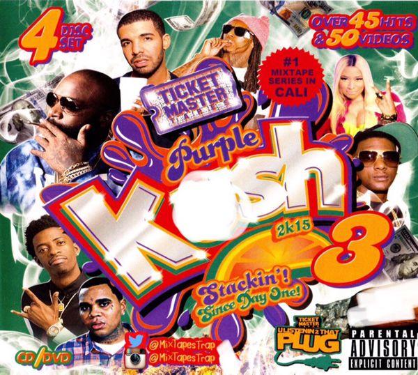 Purple K 3 cd dvd Videos Kevin gates future bookie nicki Minaj drake for  Sale in Selma, CA - OfferUp