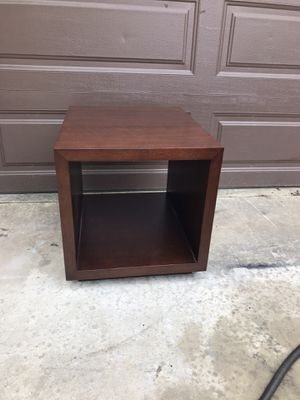 Photo Crate and Barrel side table