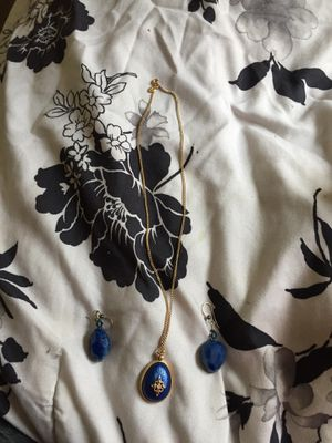 Earnings and necklace for Sale in Washington, DC