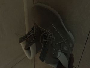 Timberlands Men's (Grey) size 14 for Sale in Miami, FL