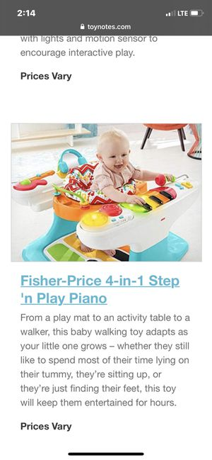 Photo Fisher-price 4 in 1 step 'n piano