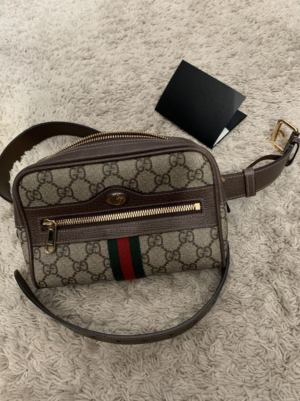 427e59f05 Gucci Ophidia GG Supreme small belt bag 95. Fanny Pack. for Sale in ...