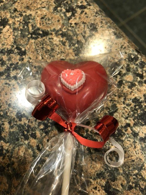 Assorted valentine taffy's