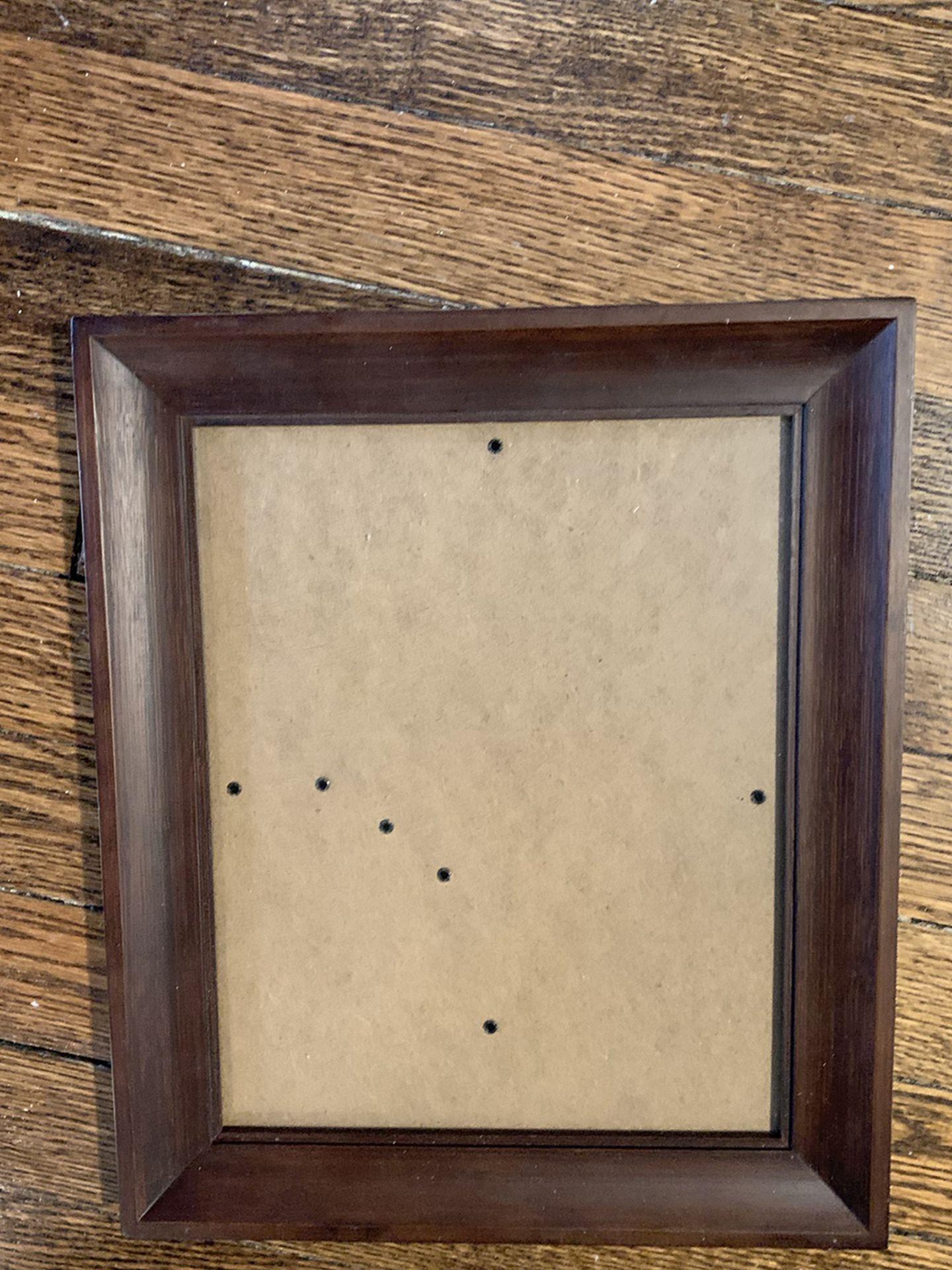 """Mahogany 8"""" X 10"""" Wood Frame"""