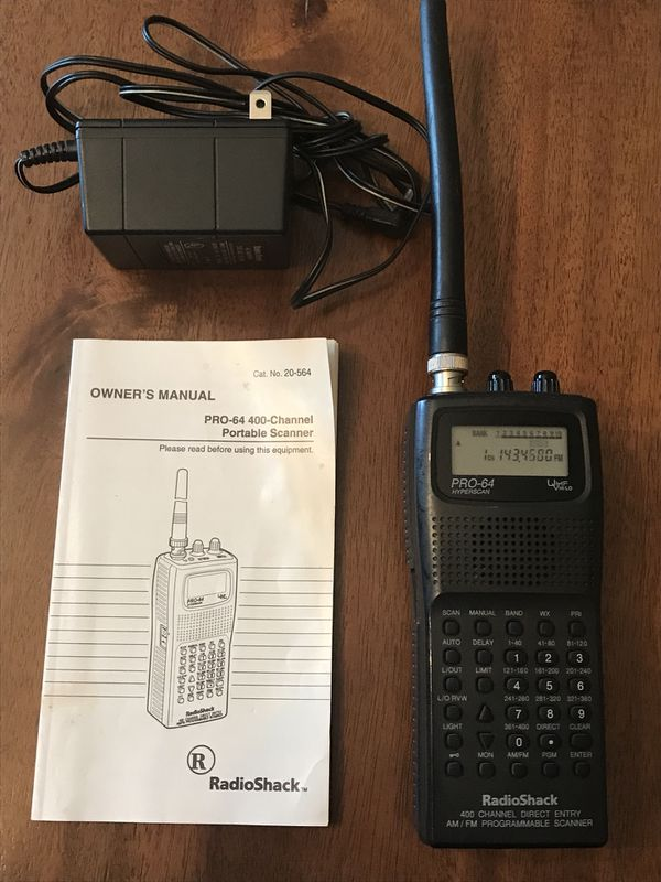 Radio Shack PRO-64 Hyperscan 400 Channel Direct Entry Handheld Scanner  for  Sale in Mechanicsburg, PA - OfferUp