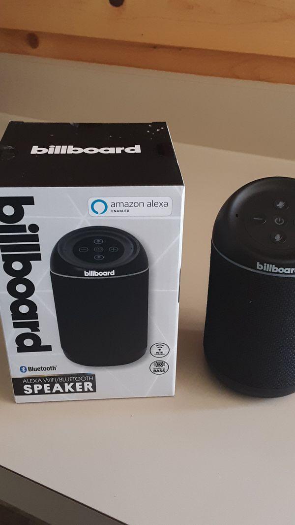Alexa Bluetooth Speaker >> Billboard Alexa Wi Fi Bluetooth Speaker For Sale In Phoenix Az