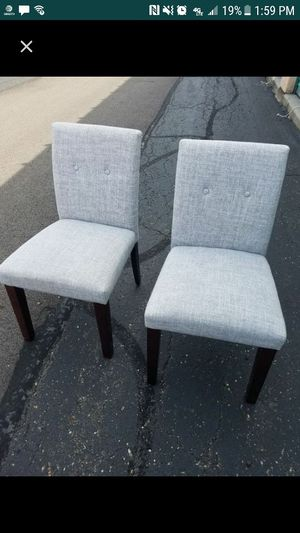 Brand new grey chairs for Sale in OH, US