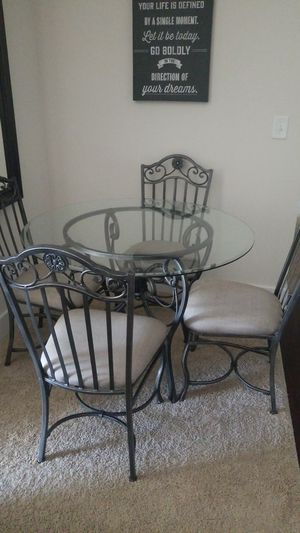 Glass Dining Table For Sale In Charlotte NC
