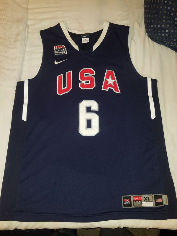 premium selection 930ca 463d4 Nike LeBron James USA Jersey for Sale in Prattville, AL - OfferUp