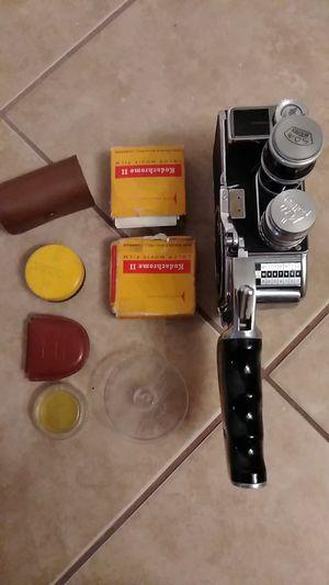 Photo Collectors vintage Swiss bolex paillard working movie camera and accesories