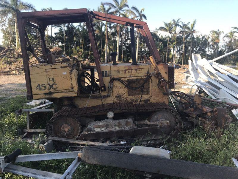 450c case bulldozer