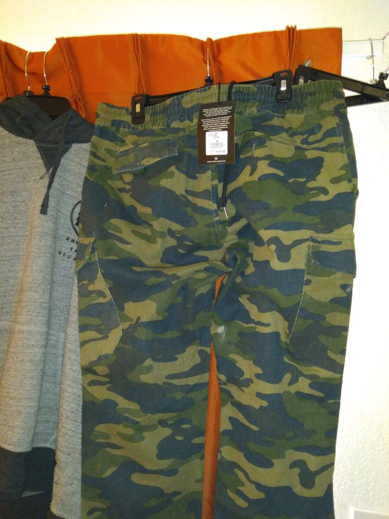 True Religeon Size 38 Camo Drawstring pants