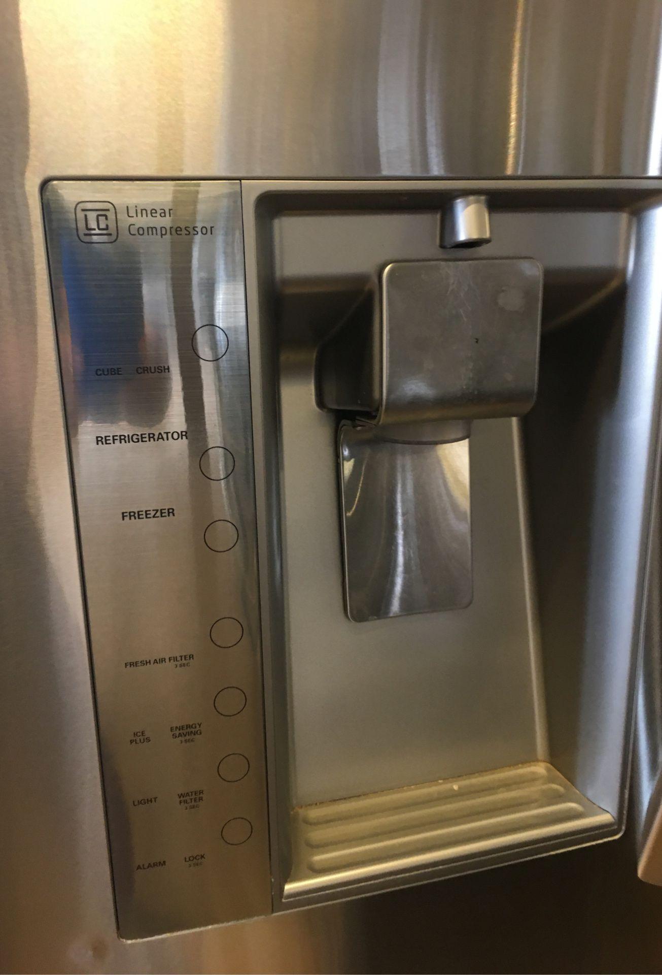 Refrigerator LG 3 doors