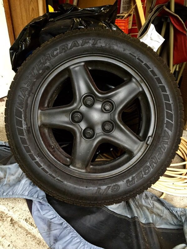 Firebird Camaro stock wheels and Mastercraft Tires