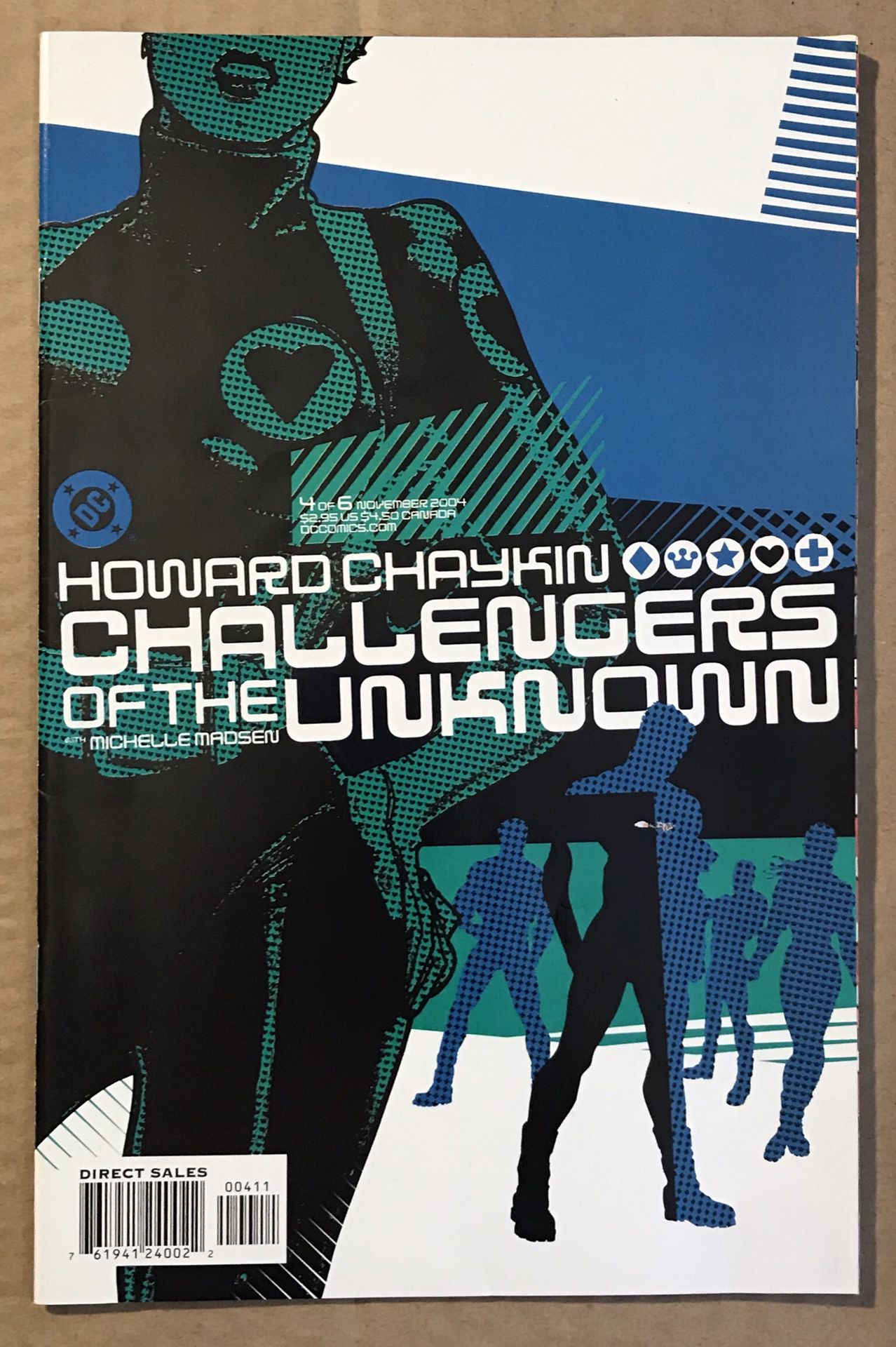 Challengers of the Unknown #1-6 Set Near Mint 9.4 Howard Chakin.
