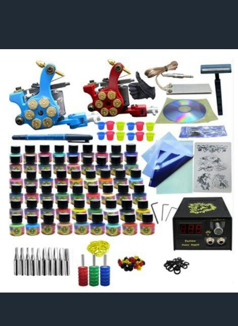 Tattoo- everything to tattoo. kits and equipment. for Sale in Ware ...
