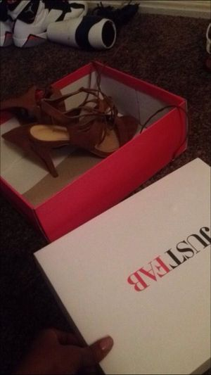 Pretty tan heels for sale HMU ! for Sale in Philadelphia, PA