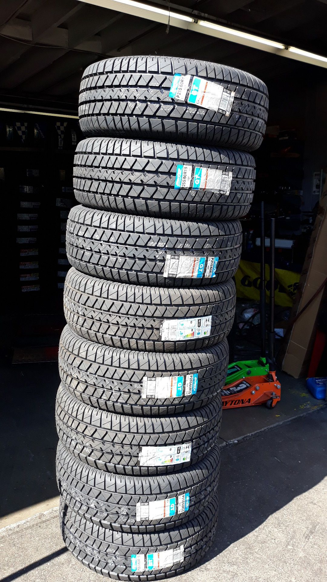 255-60-15 tire on sale lowest price in bay area