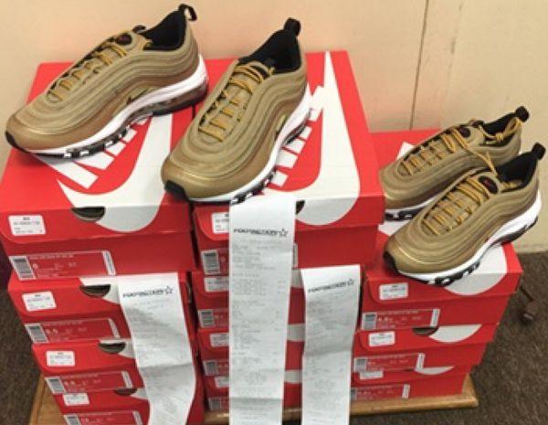 new arrival e0251 52d42 Nike Air Max 97 OG QS Metallic Gold Varsity Red 884421-700
