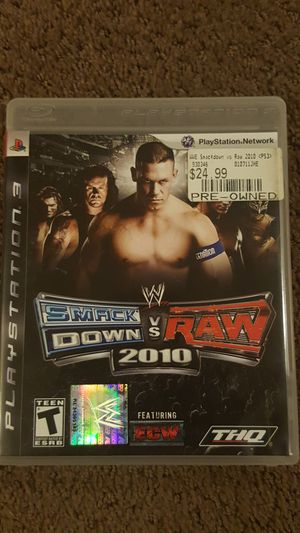 WWE Smackdown vs. Raw 2010 for Sale in Falls Church, VA
