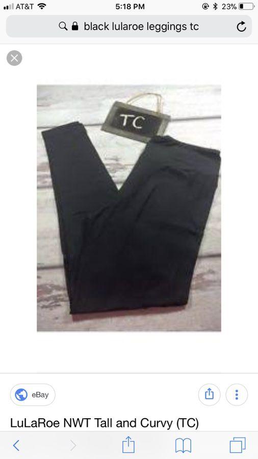 5ddeafe5c9e13 Lularoe tc black leggings for Sale in Brockton, MA - OfferUp