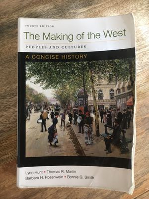 The Making of the West: Peoples and Cultures (Textbook) for Sale in Manassas, VA