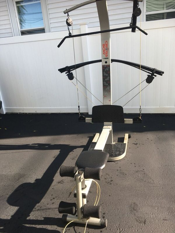 Weider crossbow home gym for sale in providence ri offerup