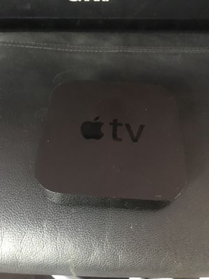 Apple TV with remote and cords for Sale in Somerville, MA