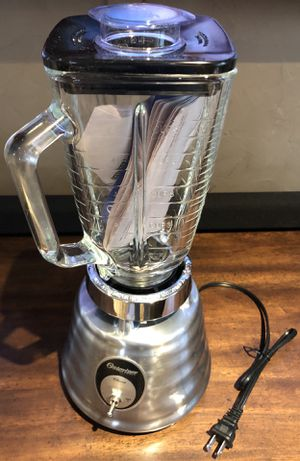 Oster® Classic Series Heritage Blender - Brushed Stainless - Glass Jar for Sale in Salt Lake City, UT