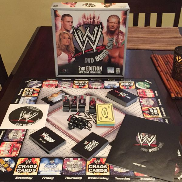 Wwe dvd board game 2nd edition replacement parts dice black.