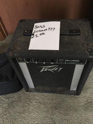 Bass 20 Watt for Sale in Columbus, OH