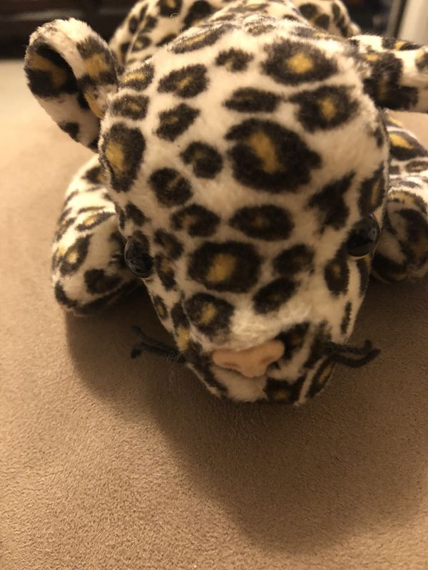 77d16c6af00 Beanie Baby Freckles the Leopard DOB 6-3-96 (Rare) for Sale in ...